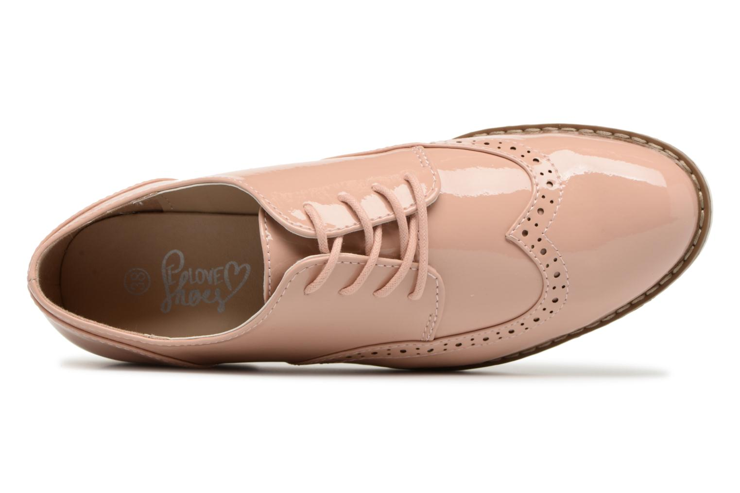 Veterschoenen I Love Shoes FANELY Roze links