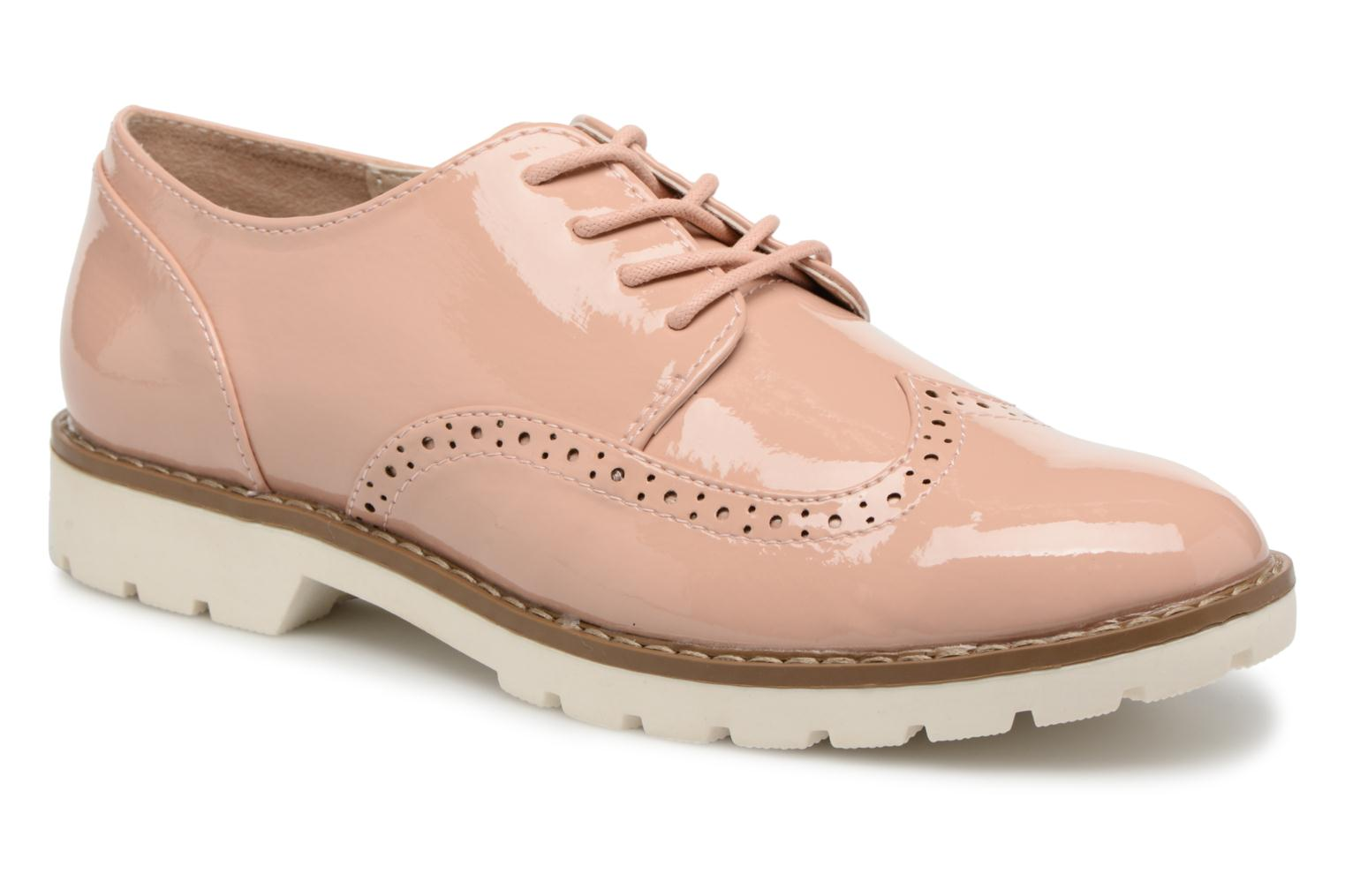 Veterschoenen I Love Shoes FANELY Roze detail