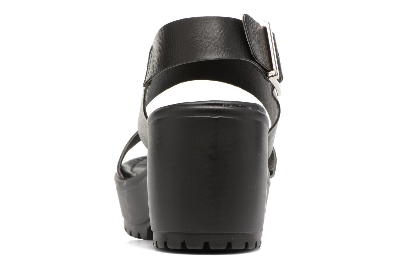 Sandales et nu-pieds MTNG Charlot 50992 Noir vue droite