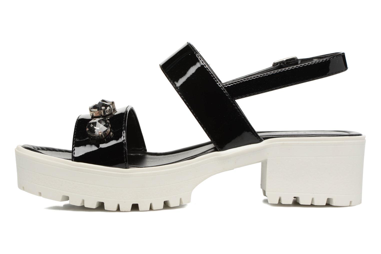 Sandali e scarpe aperte MTNG Speck 51607 Nero immagine frontale