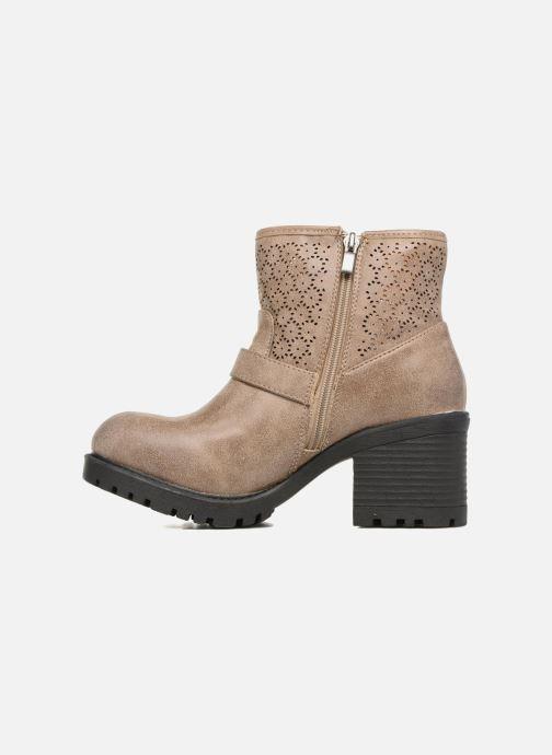 Boots en enkellaarsjes MTNG Suevo 52469 Beige voorkant