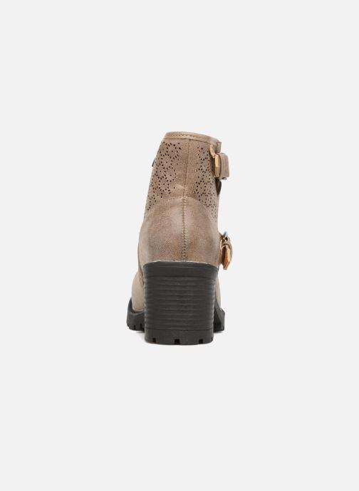 Boots en enkellaarsjes MTNG Suevo 52469 Beige rechts