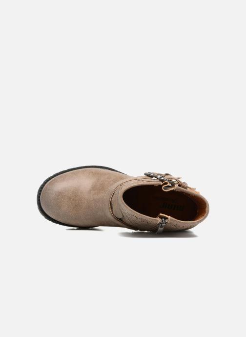 Boots en enkellaarsjes MTNG Suevo 52469 Beige links