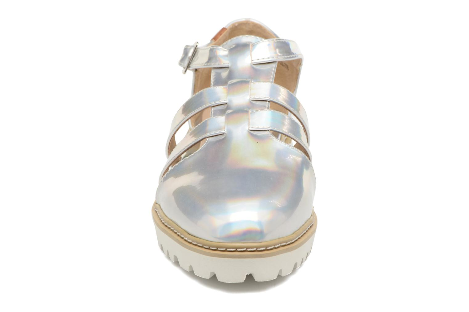 Sandals MTNG Loku 52873 Silver model view