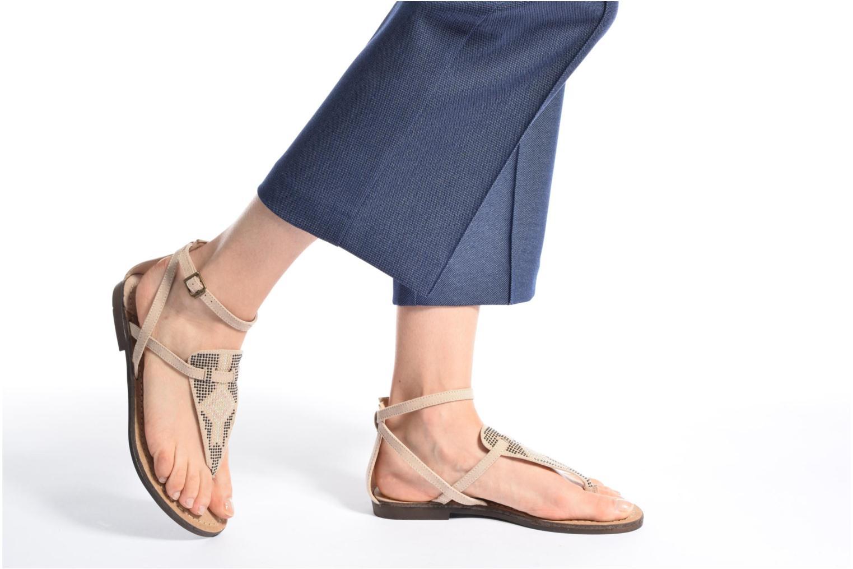 Sandali e scarpe aperte MTNG Micra 53575 Beige immagine dal basso