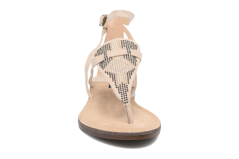Sandali e scarpe aperte MTNG Micra 53575 Beige modello indossato