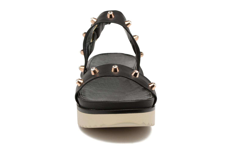 Sandalen MTNG Clou 53937 schwarz schuhe getragen