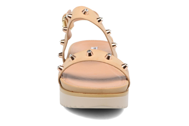 Sandalen MTNG Clou 53937 beige schuhe getragen