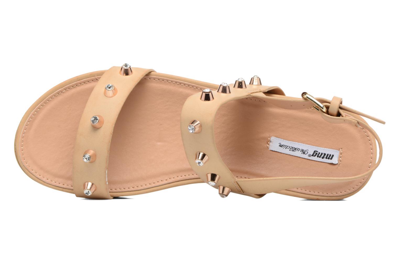 Sandali e scarpe aperte MTNG Clou 53937 Beige immagine sinistra