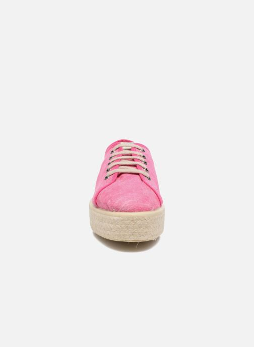 Baskets MTNG Tejano 69733 Rose vue portées chaussures