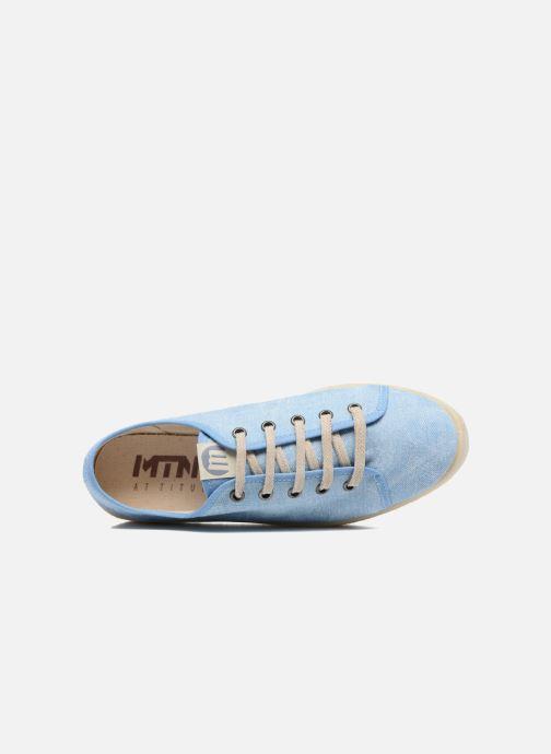 Baskets MTNG Tejano 69733 Bleu vue gauche