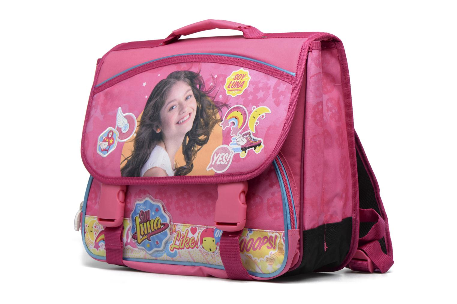 School bags Soy Luna Cartable 38cm Pink model view