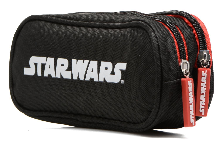 Schooltassen Star Wars Trousse double Multicolor rechts