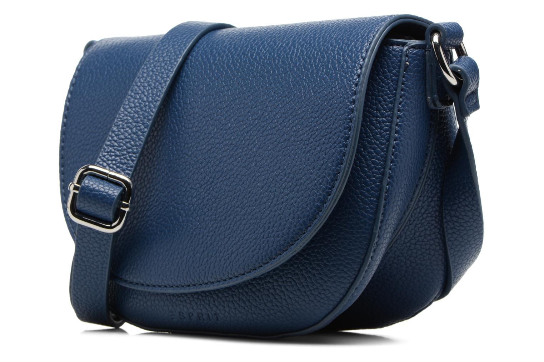 Sacs à main Esprit Tilda Middle Shoulderbag Bleu vue portées chaussures