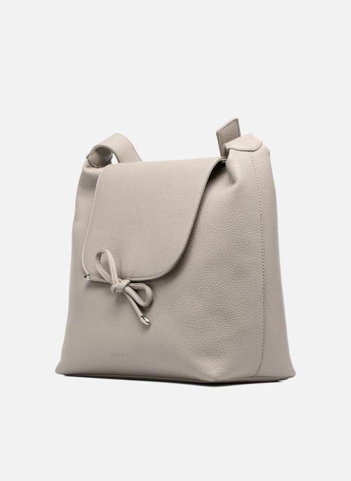 Handbags Esprit Tilda hobo Grey model view