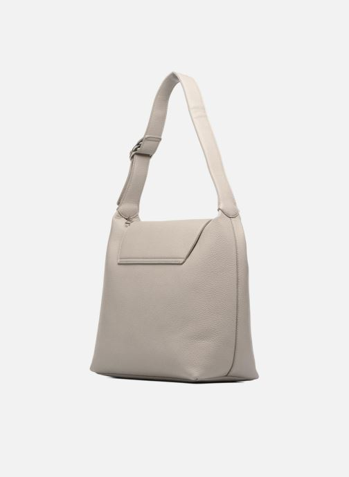 Handbags Esprit Tilda hobo Grey view from the right