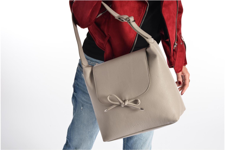 Handtaschen Esprit Tilda hobo grau ansicht von oben