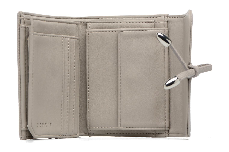 Pelletteria Esprit Tilda City Wallet Grigio immagine sinistra