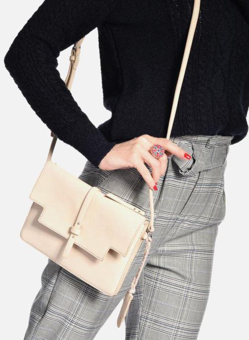 Handbags Esprit Tracy Shoulderbag Beige view from underneath / model view