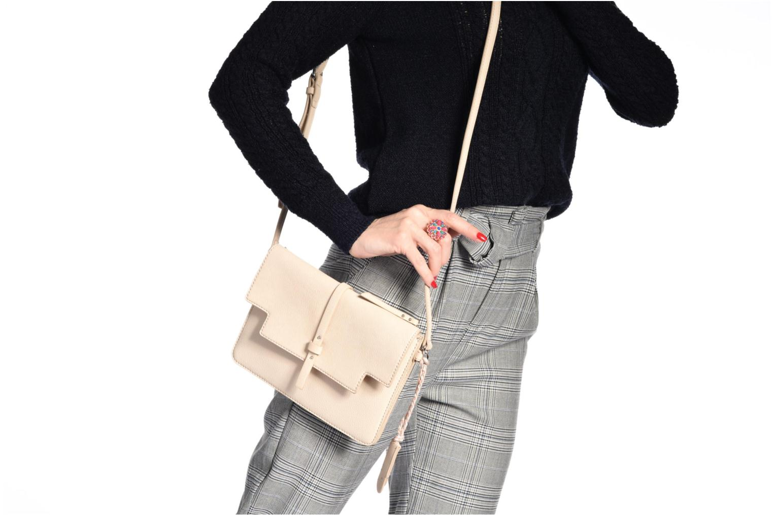 Handbags Esprit Tracy Shoulderbag Beige view from above