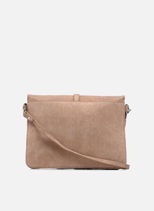 Sacs à main Esprit Thelma FL Shoulder Leather bag Marron vue face
