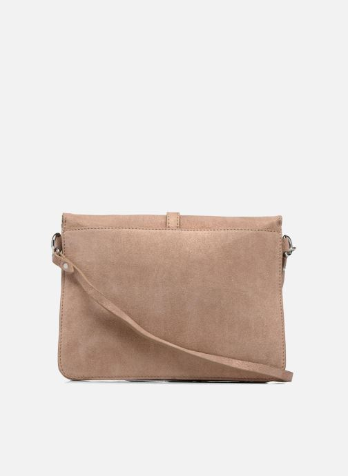 Handtassen Esprit Thelma FL Shoulder Leather bag Bruin voorkant