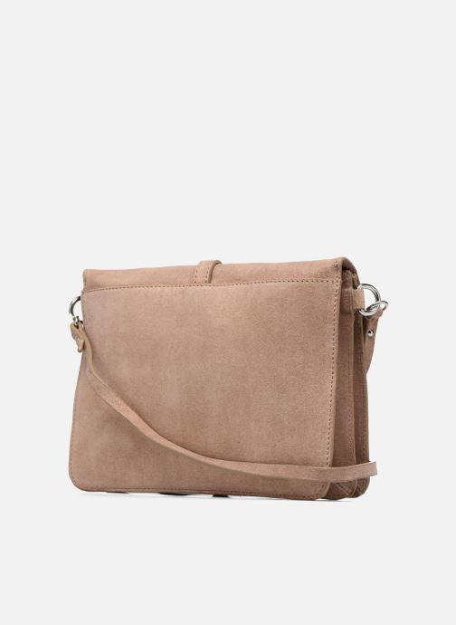 Handtassen Esprit Thelma FL Shoulder Leather bag Bruin rechts