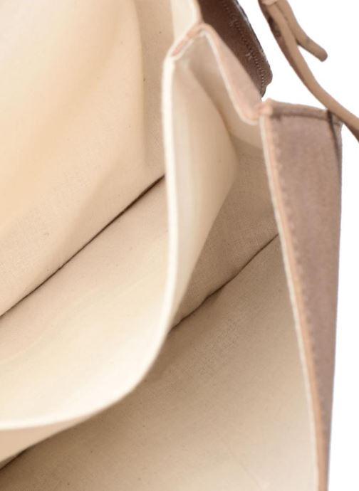 Handtassen Esprit Thelma FL Shoulder Leather bag Bruin achterkant