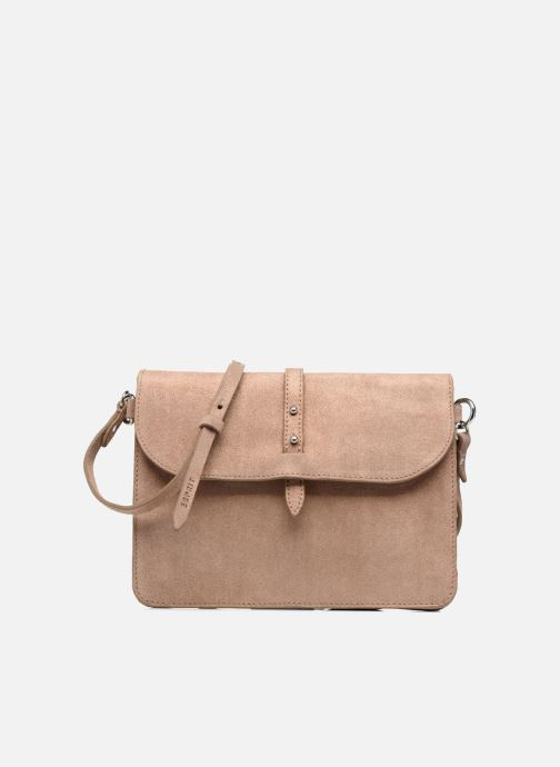 Handtassen Esprit Thelma FL Shoulder Leather bag Bruin detail