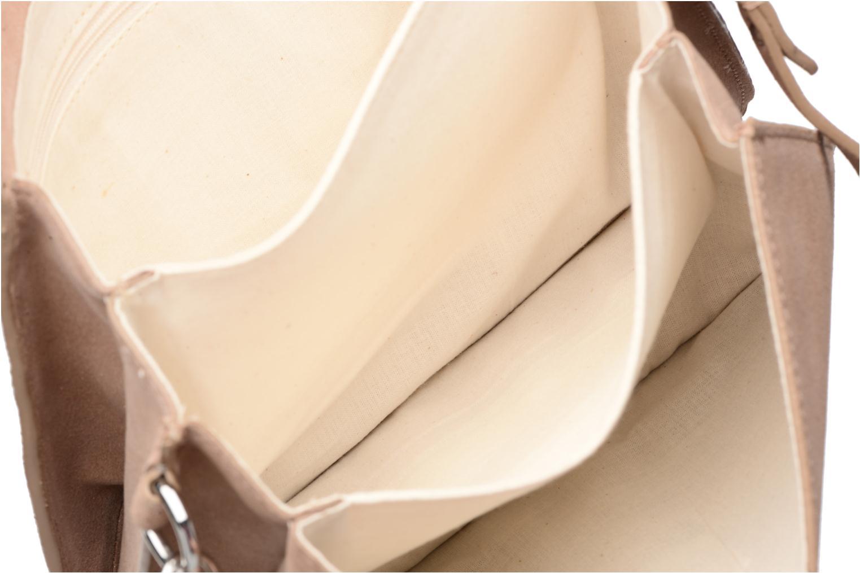 Borse Esprit Thelma FL Shoulder Leather bag Marrone immagine posteriore