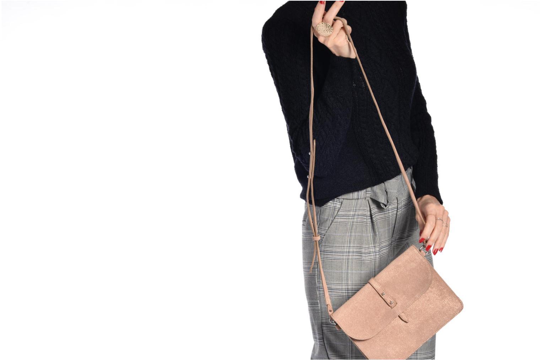 Borse Esprit Thelma FL Shoulder Leather bag Marrone immagine dall'alto