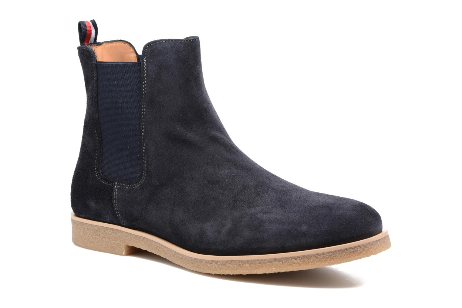 Boots en enkellaarsjes Tommy Hilfiger William 2B Blauw detail