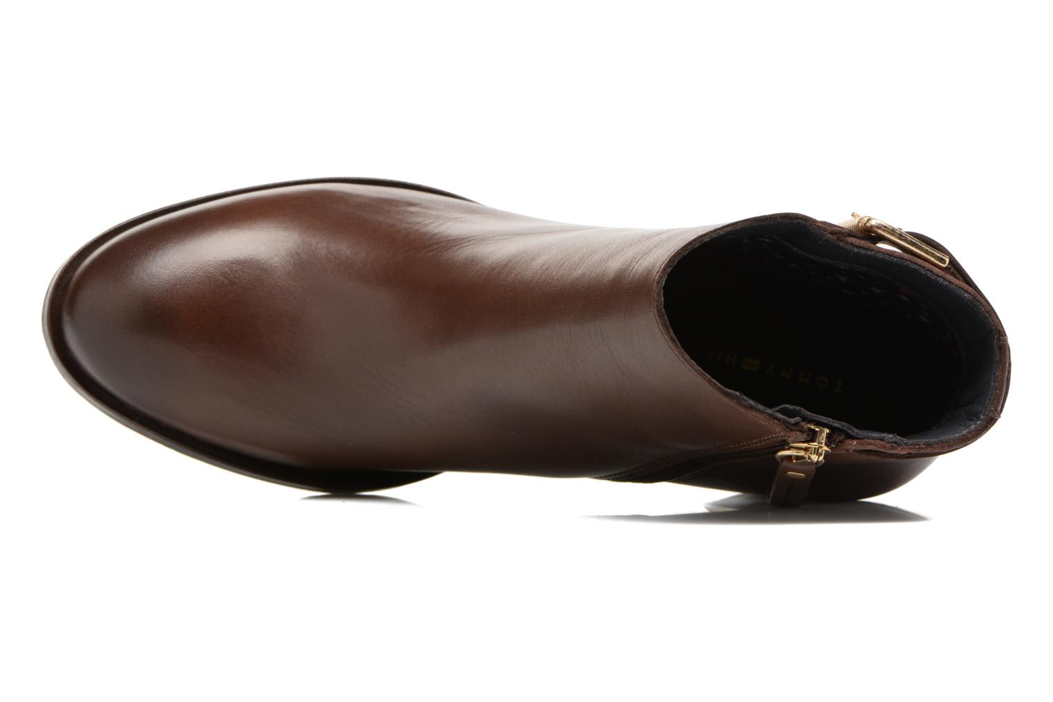 Bottines et boots Tommy Hilfiger Penelope 18A Marron vue gauche