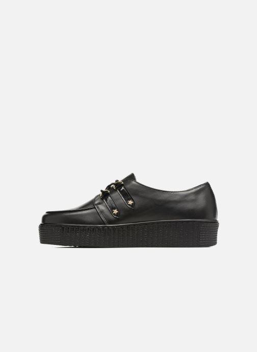 Chaussures à lacets Tommy Hilfiger Gigi Hadid Creeper Shoe Noir vue face