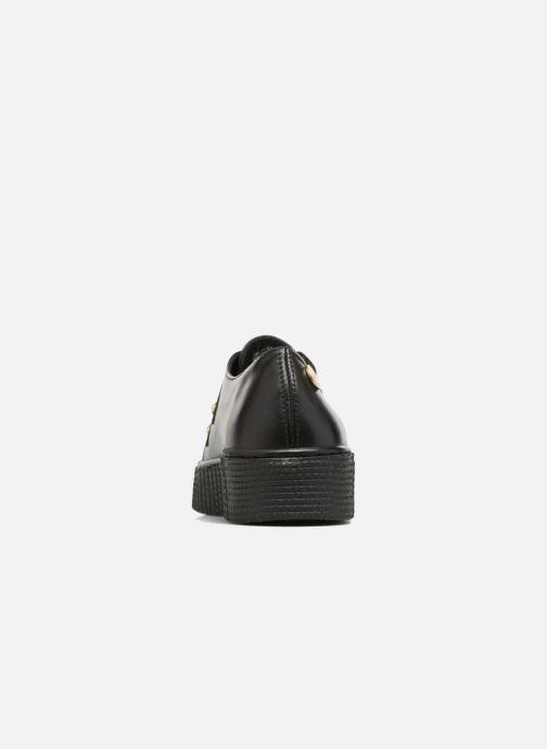 Veterschoenen Tommy Hilfiger Gigi Hadid Creeper Shoe Zwart rechts