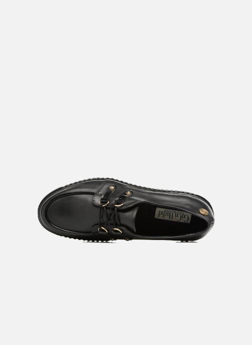 Chaussures à lacets Tommy Hilfiger Gigi Hadid Creeper Shoe Noir vue gauche