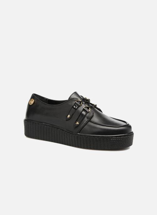 Veterschoenen Tommy Hilfiger Gigi Hadid Creeper Shoe Zwart detail