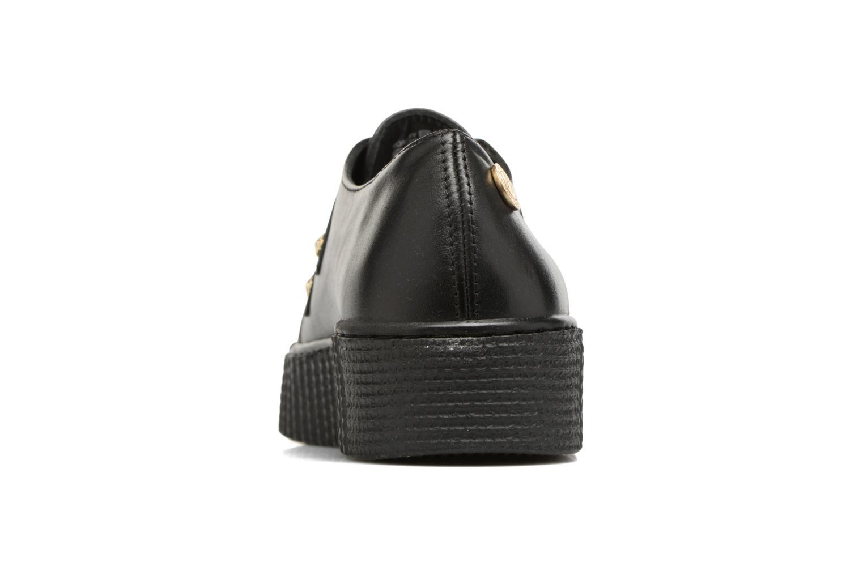 Schnürschuhe Tommy Hilfiger Gigi Hadid Creeper Shoe schwarz ansicht von rechts