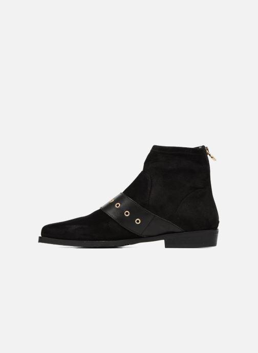 Stiefeletten & Boots Tommy Hilfiger Gigi Hadid Flat Boot schwarz ansicht von vorne