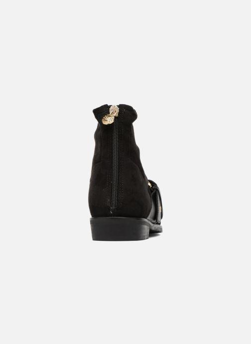Stiefeletten & Boots Tommy Hilfiger Gigi Hadid Flat Boot schwarz ansicht von rechts