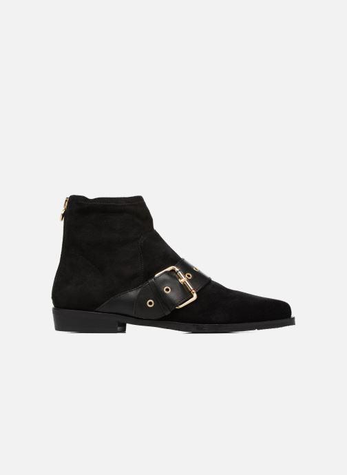 Stiefeletten & Boots Tommy Hilfiger Gigi Hadid Flat Boot schwarz ansicht von hinten