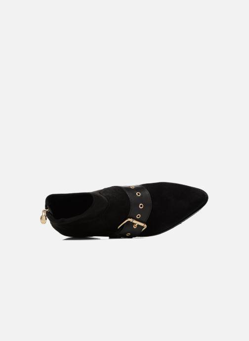 Stiefeletten & Boots Tommy Hilfiger Gigi Hadid Flat Boot schwarz ansicht von links