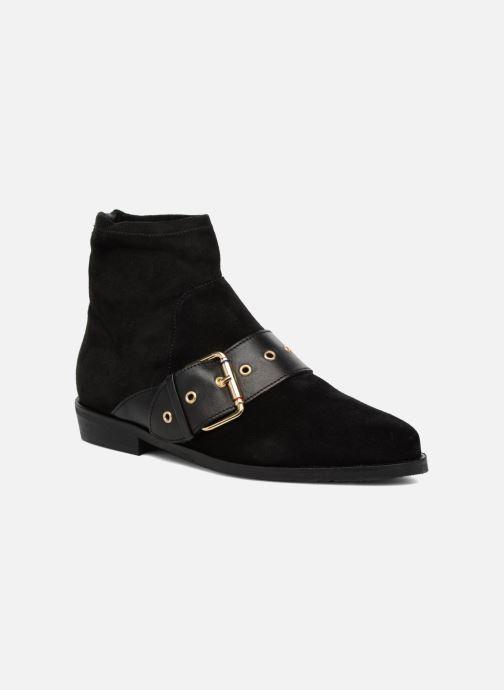 Stiefeletten & Boots Tommy Hilfiger Gigi Hadid Flat Boot schwarz detaillierte ansicht/modell