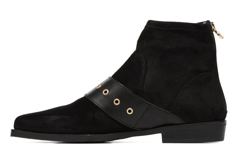 Bottines et boots Tommy Hilfiger Gigi Hadid Flat Boot Noir vue face