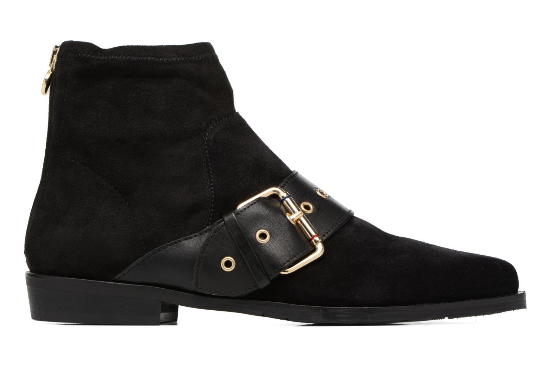 Bottines et boots Tommy Hilfiger Gigi Hadid Flat Boot Noir vue derrière