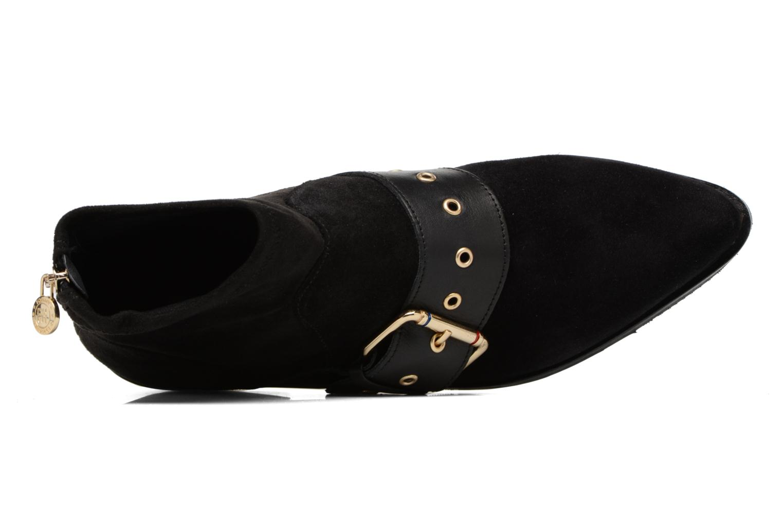 Bottines et boots Tommy Hilfiger Gigi Hadid Flat Boot Noir vue gauche
