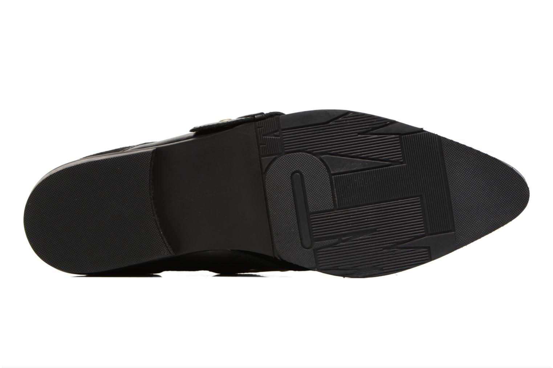 Bottines et boots Tommy Hilfiger Gigi Hadid Flat Boot Noir vue haut