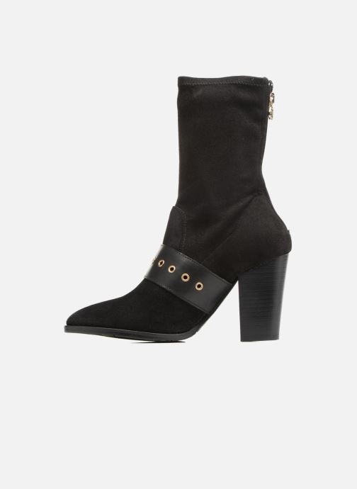 Bottines et boots Tommy Hilfiger Gigi Hadid Heeled Boot Noir vue face