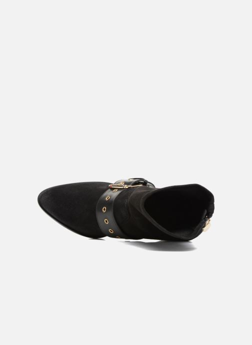 Botines  Tommy Hilfiger Gigi Hadid Heeled Boot Negro vista lateral izquierda