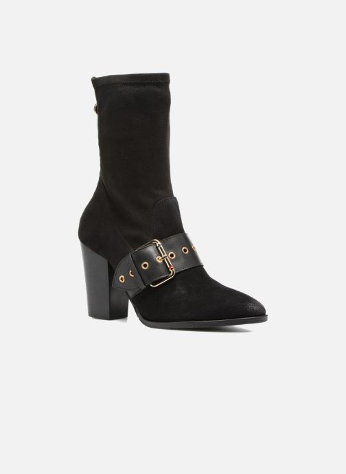 Botines  Tommy Hilfiger Gigi Hadid Heeled Boot Negro vista de detalle / par